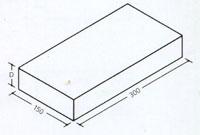 Форматы клинкерного тротуарного кирпича