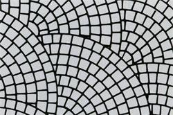 Виды кладки кирпичом - чешуйчатое мощение