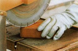 Укладка клинкерной брусчатки