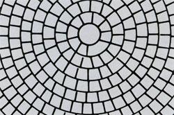 Виды кладки кирпичом - круговое мощение