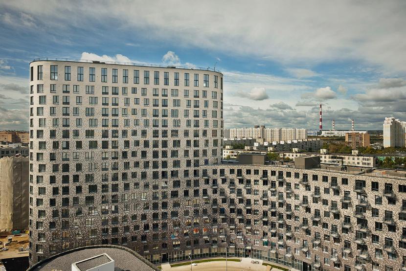 Плавный ход – жилой квартал 9-18 в Москве